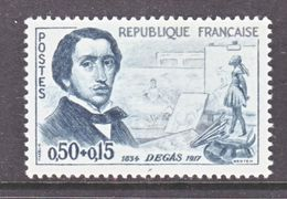 FRANCE  B 346  *  PAINTER  EDGAR  DEGAS - Unused Stamps