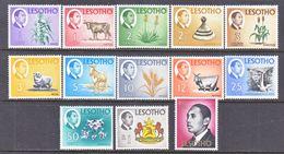 LESOTHO  47-59  *  Wmk. - Lesotho (1966-...)