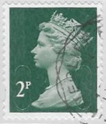 GB 2016 SecUrity Machin 2p M16L Good/fine Used [36/30036/ND] - 1952-.... (Elisabetta II)