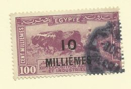 Egypt - 1926 10m On 100m Overprint - Sc#116 - GU - S.3 - Egypt
