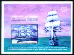INDIA STAMPS, TARANGINI MINIATURE SHEET, 25 APR 2004, SHIP, MNH - India