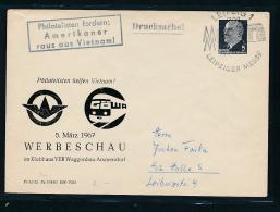 DDR Propaganda Beleg  ( T9344 ) Siehe Scan ! - DDR