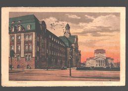Duisburg - Landgericht Und Theater - Military Post Belgiën - 1923 - Duisburg