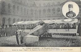 Le Vieux Charles De L'Escadrille Des Cigognes, Avion De Chasse Spad Du Capitaine Guynemer - Carte E.L.D. Non Circulée - 1914-1918: 1a Guerra