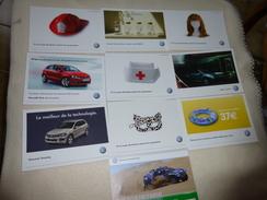 10 CARTES PUBLICITE ..WOLKSWAGEN...AUTOMOBILE - Cartoline