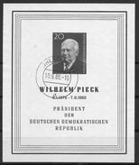 DDR 1960 / MiNr.   Block 16  Dresden 10.9.60    Scan_957    O / Used  (s333) - DDR