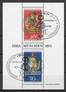 BRD 1973 / MiNr.  Block 9  Sonderstempel  Bonn Philatelistenkongress   Scan_962    O / Used  (s335) - Blocks & Sheetlets