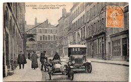 Nièvre - NEVERS - Sur La Place Guy-Coquille - Café De Paris - 1923 - Nevers