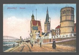 Düsseldorf - Rheinufer - 1925 - Army Post Belgiën - Düsseldorf