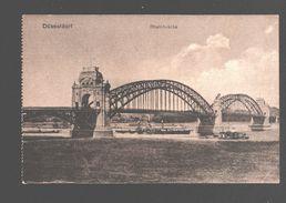 Düsseldorf - Rheinbrücke - 1921 - Belgian Army Post - Düsseldorf