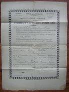 Albi (Tarn) 1917 Certificat D'études Primaires Pour Casimir Balssa - Diploma & School Reports
