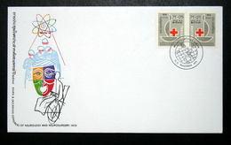 Thailand Stamp FDC 1975 Red Cross Fair #1 - Thailand