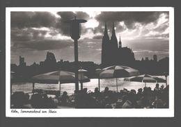 Köln - Sommerabend Am Rhein - Fotokarte - 1952 - Militärstempel / Militaire Stempel - Animiert - Kirchlengern