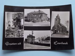 Groeten Uit LEERBEEK ( E.D.W. Kester ) Anno 19?? ( Zie Foto Voor Details ) ! - Gooik