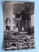 LEERBEEK Kerk Binnenzicht ( E.D.W. Kester ) Anno 19?? ( Zie Foto Voor Details ) ! - Gooik