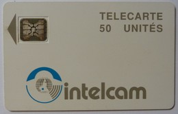CAMEROON - Chip - Schlumberger - 50 Units - Intelcam - 21161 - Large Arrow - Used - Cameroon