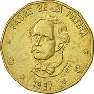 Dominican Republic, Peso, 1997, TTB, Laiton, KM:80.2 - Dominicaine