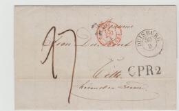 Pre301 /  PREUSSEN - Duisburg 1842 Nach Frankreich - Duitsland