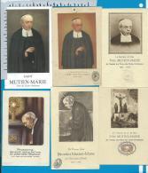 Holycard    St. Mutien - Marie   Wiaux   Mellet   Malonne   Relic   Reliquia - Devotion Images