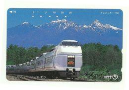 Giappone - Tessera Telefonica Da 50 Units T343 - NTT - Treni