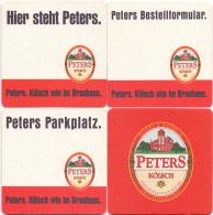 #D182-139 Reeks Viltjes Peters Kölsch - Sous-bocks
