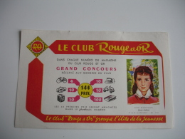 Livre Anne Beauchamps  Dear Cherie Club Roufe Et Or  Buvard - Stationeries (flat Articles)