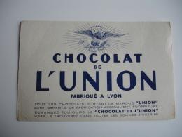 Chocolat De L Union Lyon  Buvard - Cocoa & Chocolat