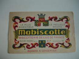 Biscottes Mabiscottes Mitry Mory  Buvard - Zwieback