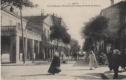 ALGERIE- SETIF - RUE SILLÈGUE -L' ÉCOLE - Sétif