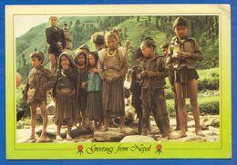 Nepal; Children Of Jumla - Nepal