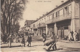 ALGERIE- SETIF - RUE D'ISLY - Sétif