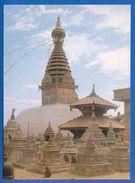Nepal; Swoyambhu; Stupa - Nepal