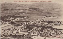ALGERIE- SETIF - VUE DU FAUBOURG DE LA GARE A VOL D'OISEAU - Sétif