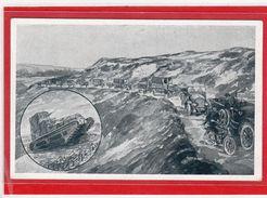 AK Verkehrstruppen - Gedächtnistag Dresden 1922 /1924 - Militari
