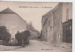 HAUTE MARNE  -  BOURMONT -  Le Monument  ( - N'a Pas Circulé ) - Bourmont