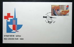 Thailand Stamp FDC 1980 Red Cross Fair #2 - Thailand