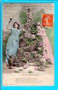 Carte Postale Ancienne -  Illustrateur  Bergeret La Source D Amour 3 - Bergeret