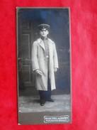 Photo CDV Atelier STREIL PADEBORN 1909 - Guerra, Militari