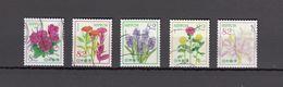 Japan 2016 - Omotenashi Flowers Series 6, 82 Yen, Used Stamps, Michelnr. 8006-10 - Gebruikt