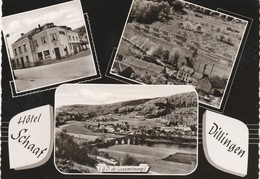 Dillingen , Hotel Schaaf , Multivues ,camping Privé - Postkaarten