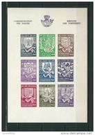 [1753] Blok 10A ** Postfris - Blocks & Sheetlets 1924-1960