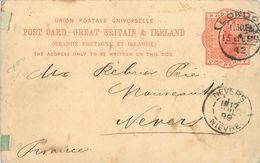 Grande Bretagne Et Irlande - ENTIER POSTAL DE 1899 - Entiers Postaux