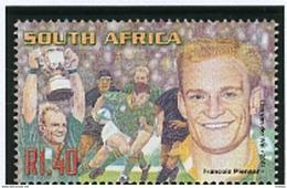 Rugby Afrique Du Sud Francois Pienaar Capitaine De L'équipe Victorieuse En 1995 - Rugby