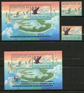 Cocos Keeling Islands, Yvert 313&314+BF14&15, Scott 300&301+301a&b, MNH - Cocoseilanden