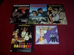 PROMO  5 DVD  CLASSIQUES °  ELLE CAUSE PLUS ELLE FLINGUE + LA DOLCE VITA + LE DOULOS + LES GRANDES GUEULES + LE BON ROI - DVDs