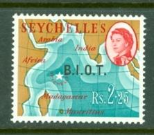 British Indian Territory (BIOT): 1968   QE II - Pictorial 'B.I.O.T.' OVPT   SG12    2R 25   MNH - British Indian Ocean Territory (BIOT)