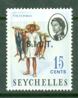 British Indian Territory (BIOT): 1968   QE II - Pictorial 'B.I.O.T.' OVPT   SG3    15c   MNH - British Indian Ocean Territory (BIOT)