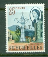 British Indian Territory (BIOT): 1968   QE II - Pictorial 'B.I.O.T.' OVPT   SG5    25c   MNH - British Indian Ocean Territory (BIOT)