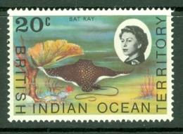 British Indian Territory (BIOT): 1968/70   QE II - Marine Life   SG19    20c   MNH - British Indian Ocean Territory (BIOT)