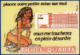 HUMORISTIQUE ILLUSTRATEUR ALEXANDRE SERIE JEUX TIERCE QUARTE REF. 951/1 EDITIONS LYNA PARIS - NOTRE SITE Serbon63 - Alexandre